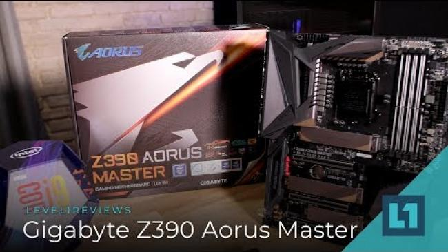 Embedded thumbnail for Gigabyte Z390 Aorus Master Review + Linux Test