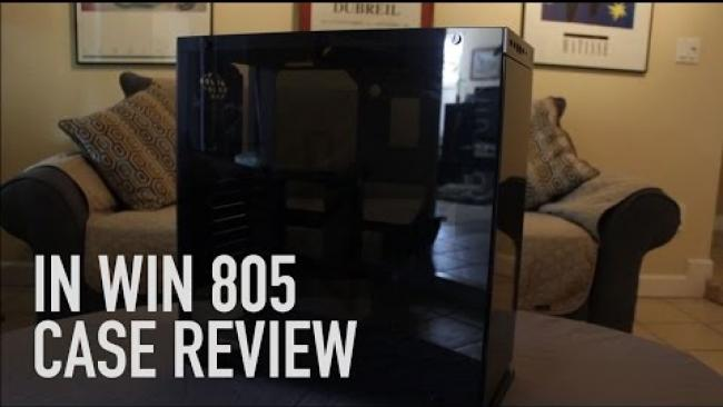 Embedded thumbnail for In Win 805 Case Review