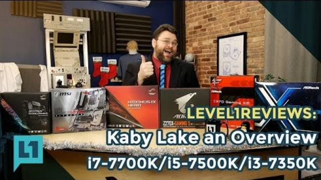 Embedded thumbnail for Kaby Lake: i7-7700k, i5-7600k, i3-7350k and Z270 Everything You Need To Know