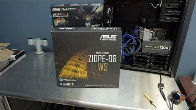 Embedded thumbnail for ASUS Z10PE D8 WS Motherboard Review