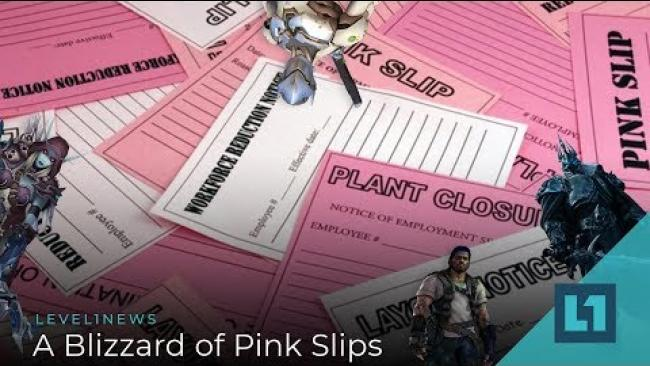 Embedded thumbnail for Level1 News February 20 2019: A Blizzard of Pink Slips