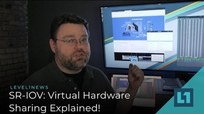 Embedded thumbnail for 4 Games on 1 GPU? SR-IOV & Virtual GPUs -- Why Consumers Need It