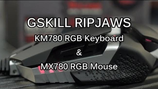 Embedded thumbnail for GSKILL RIPJAWS KM780 AND MX780 GAMING PERIPHERALS