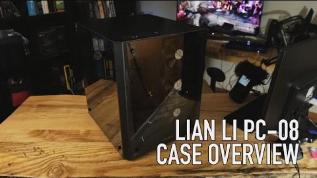 Embedded thumbnail for Lian Li PC-08 Case Overview