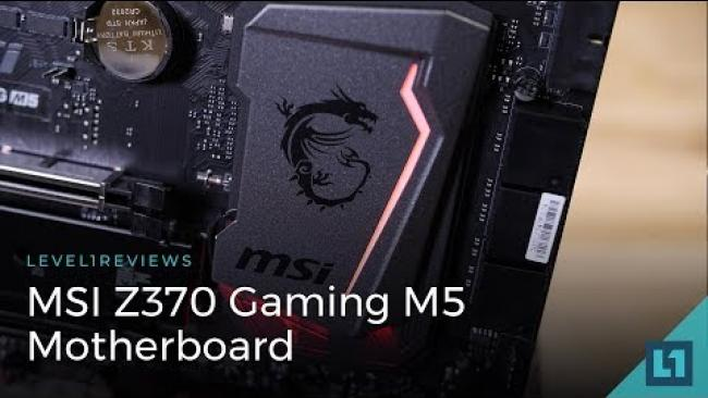 Embedded thumbnail for MSI Z370 Gaming M5 Motherboard Review