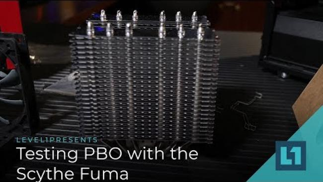 Embedded thumbnail for AMD: Testing PBO with the Scythe Fuma Cooler