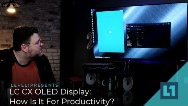 Embedded thumbnail for LG CX OLED Display: How Is It For Productivity?