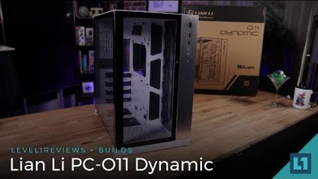 Embedded thumbnail for Lian Li PC-O11 Dynamic Case Review + Build