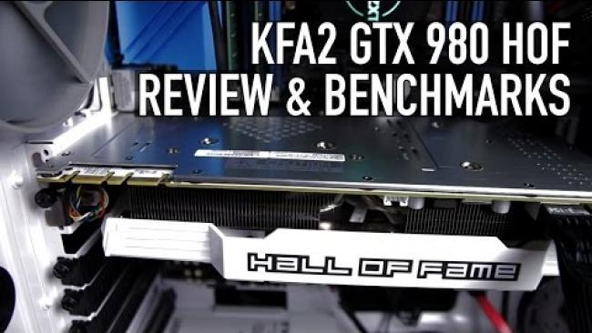 Embedded thumbnail for KFA2 Nvidia GTX 980 HOF Review & Benchmarks (GALAX)