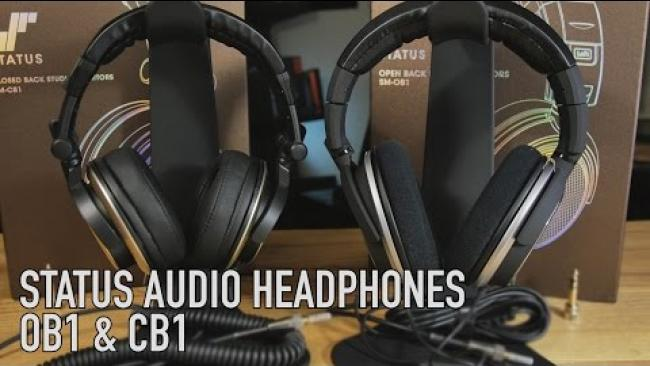 Embedded thumbnail for Status Audio Open and Closed Back: Studio Headphones - Good for the Money?
