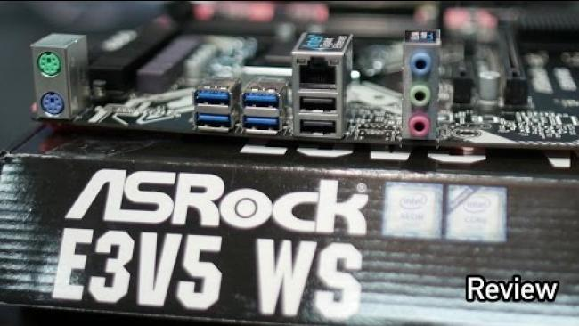Embedded thumbnail for ASRock E3V5 Skylake Xeon 1151 Motherboard Review