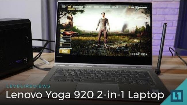 Embedded thumbnail for Lenovo Yoga 920 2-in-1 Laptop Review + Linux Test