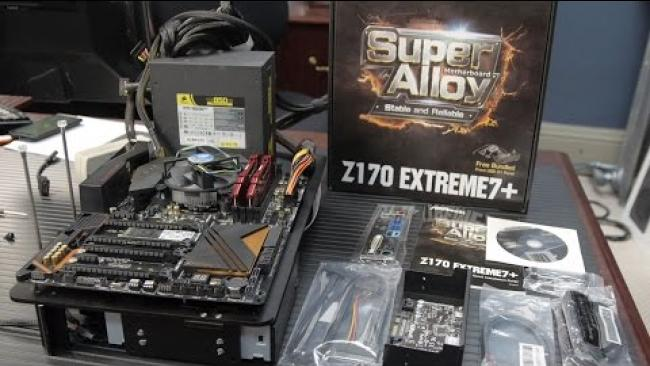 Embedded thumbnail for ASRock Z170 Extreme 7+ : Socket 1151 for Skylake