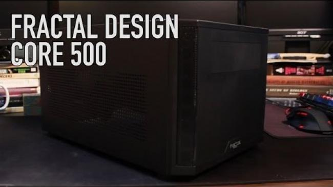 Embedded thumbnail for Fractal Design Core 500 Overview