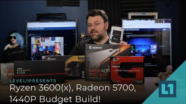 Embedded thumbnail for Ryzen 3600(x), Radeon 5700, 1440 Budget Build!