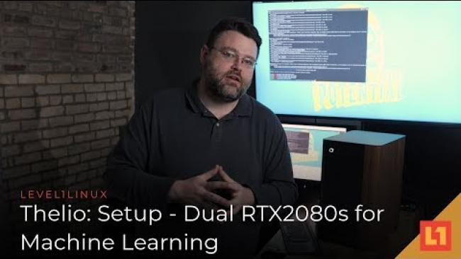 Embedded thumbnail for Thelio: Setup - Dual RTX 2080s For Machine Learning
