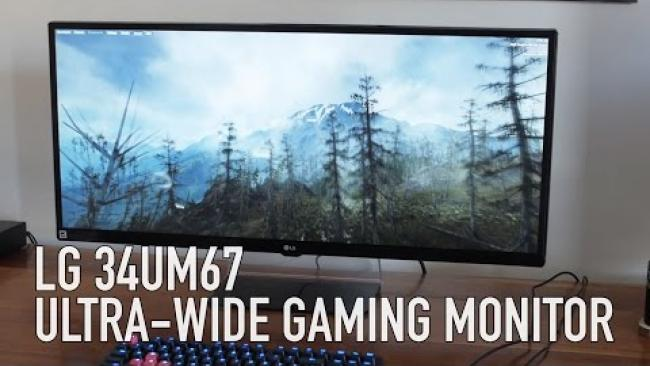 Embedded thumbnail for LG 34UM67: Freesync Ultra-wide 21:9 Gaming Monitor Review
