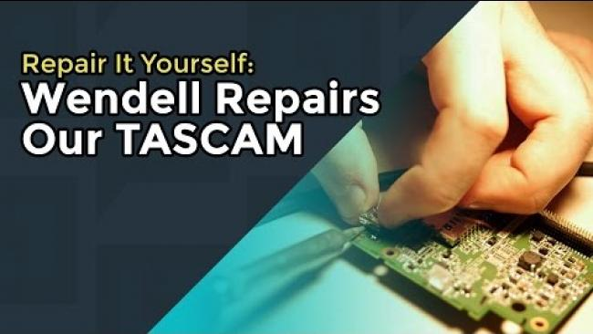Embedded thumbnail for Saving $$$ Repairing Our Audio Equipment -- Tascam 60d mkII