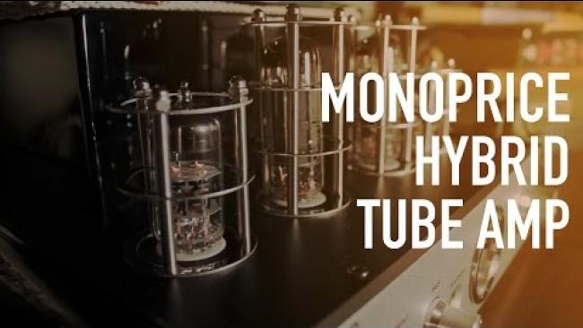 Embedded thumbnail for Monoprice Stereo Hybrid Tube Amp with Bluetooth & Speakers - Review
