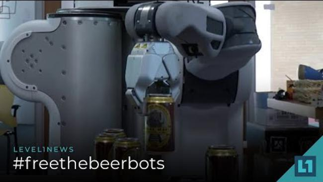 Embedded thumbnail for Level1 News September 4 2018: #freethebeerbots Patron Edition