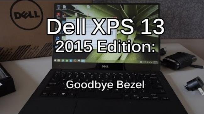 Embedded thumbnail for Dell XPS 2015 - Bezel Free Laptop Unboxing & Review
