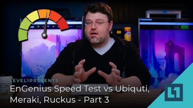 Embedded thumbnail for Engenius Speed Test Vs Ubiquti, Meraki, Ruckus - Part 3
