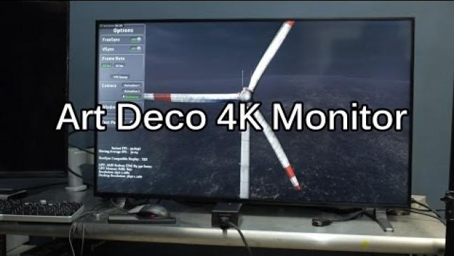 Embedded thumbnail for 40 inch 4k - The Microboard B400UHD HDX - Sexiest Korean 4k Display Yet