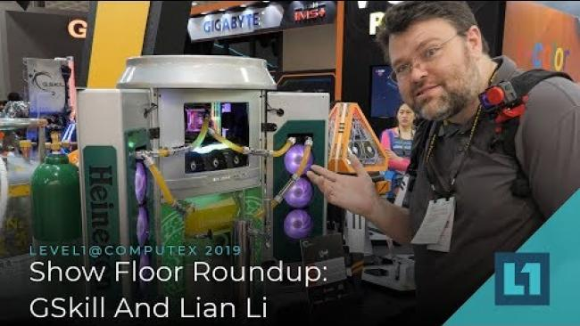 Embedded thumbnail for GSkill And Lian Li! @ Computex 2019!
