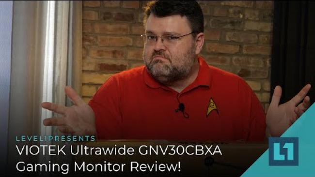 Embedded thumbnail for VIOTEK Ultrawide GNV30CBXA Gaming Monitor Review!
