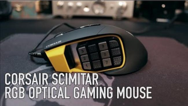 Embedded thumbnail for Corsair Scimitar RGB Optical MOBA/MMO Gaming Mouse