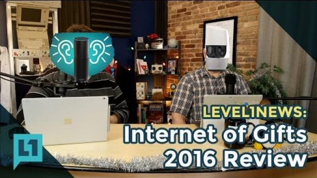 Embedded thumbnail for Level1News: 2016-12-27 Internet of Gifts 2016 Review