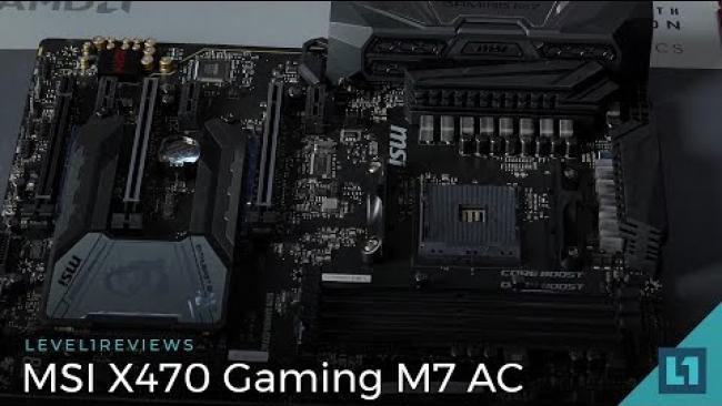 Embedded thumbnail for MSI X470 Gaming M7 AC Motherboard Review + Linux Test