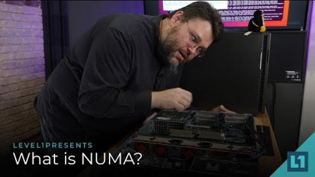 Embedded thumbnail for What is NUMA?