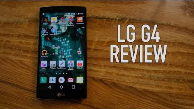 Embedded thumbnail for LG G4 Review - 4k Video, Camera Test, Benchmarks, Etc.