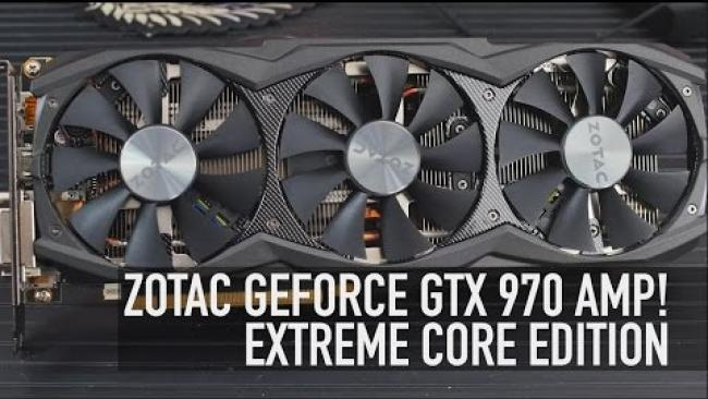 Embedded thumbnail for Zotac GTX 970 AMP! Extreme Core: The Fastest GTX 970