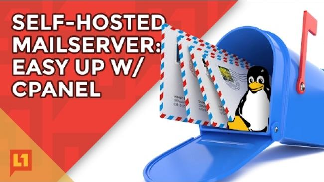 Embedded thumbnail for Self-Hosted Mail Server w/ Cpanel