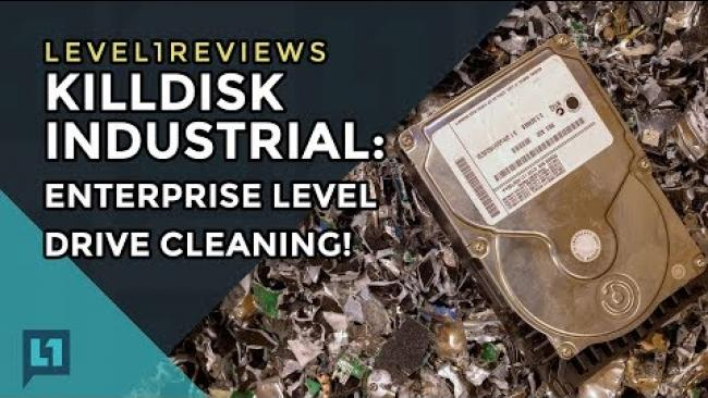Embedded thumbnail for KillDisk Industrial: Enterprise Level Drive Cleaning!