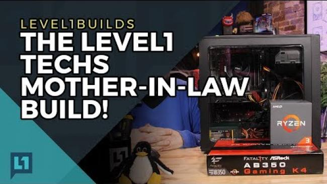 Embedded thumbnail for Ryzen 3 1300x Build: The Mother-In-Law, ft Fractal Focus G