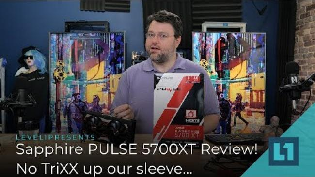Embedded thumbnail for Sapphire PULSE 5700XT Review! No TriXX up our sleeve...