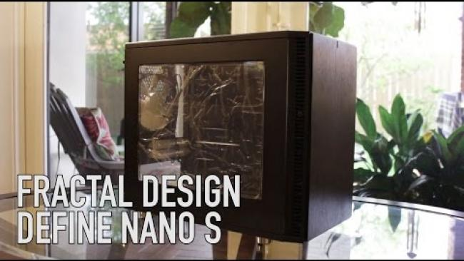 Embedded thumbnail for Define Nano S by Fractal Design - Review