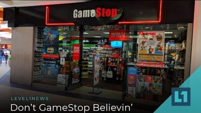 Embedded thumbnail for Level1 News September 18 2019: Don't GameStop Believin'