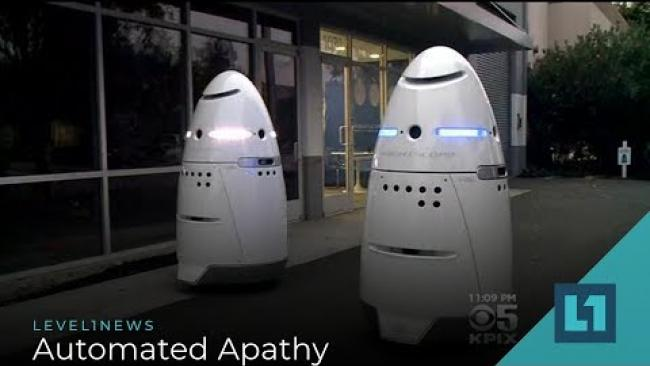 Embedded thumbnail for Level1 News October 18 2019: Automated Apathy