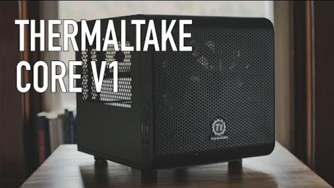 Embedded thumbnail for Thermaltake Core V1 ITX Case ($50 ITX Case!)