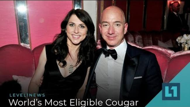 Embedded thumbnail for Level1 News April 10 2019: World's Most Eligible Cougar