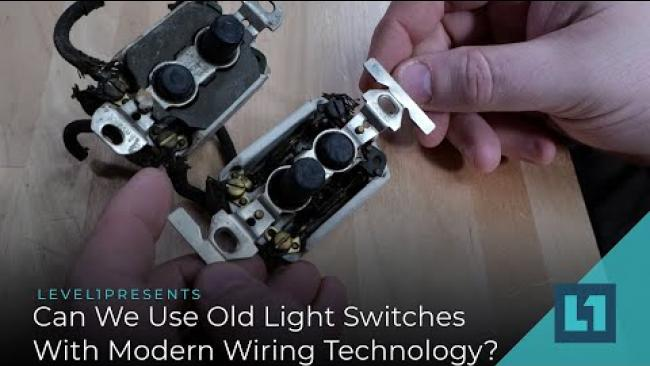 Embedded thumbnail for Better IoT: Can We Use Old-School Light Switches With Modern Wiring Technology?