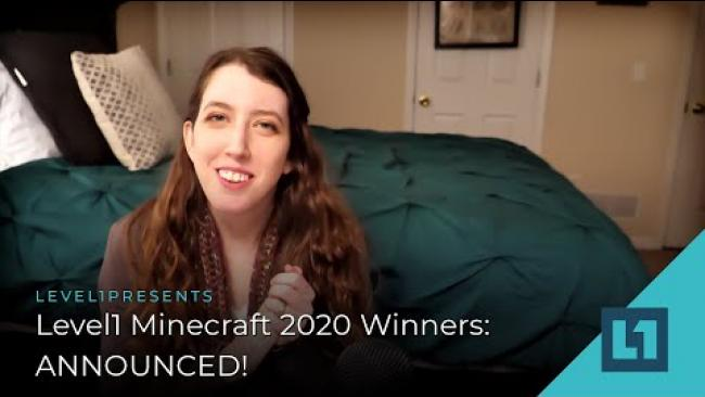 Embedded thumbnail for Level1 Minecraft 2020 Winners: ANNOUNCED!