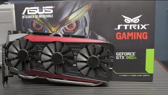 Embedded thumbnail for Asus Strix 980Ti Unboxing and Review