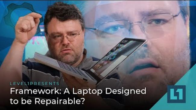 Embedded thumbnail for Framework: A Laptop Designed to be Repairable?
