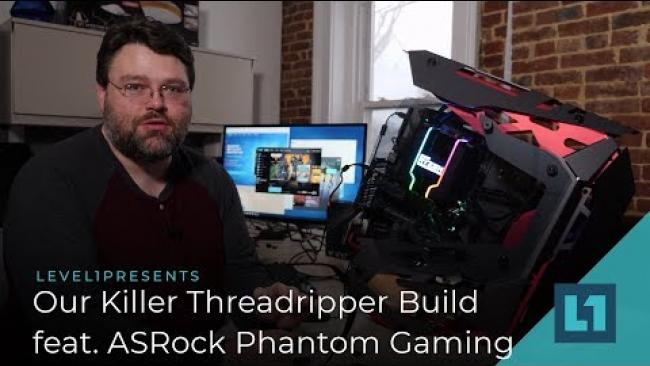 Embedded thumbnail for Our Killer Threadripper Build Featuring ASRock Phantom Gaming &  TR2920x