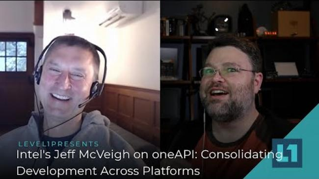 Embedded thumbnail for Intel's Jeff McVeigh on oneAPI: Consolidating Development Across Platforms